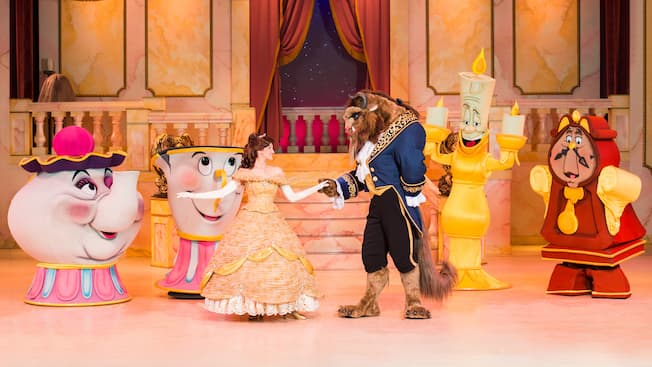 Resultado de imagem para Beauty and the Beast – Live on Stage
