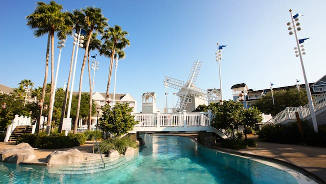 Pools At Disney S Beach Club Resort