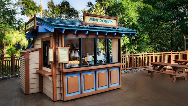 Exterior of Mini Donuts at Disney's Blizzard Beach water park