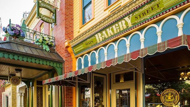 Main Street Bakery en Main Street, U.S.A.