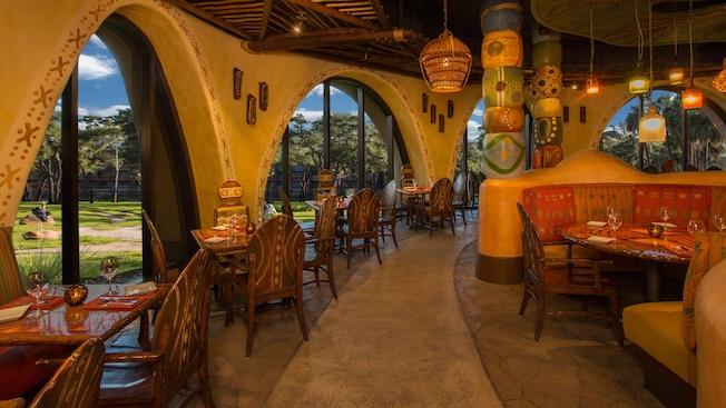 Sanaa Menu | Walt Disney World Resort