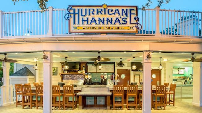 Hurricane Hanna's Grill | Walt Disney World Resort