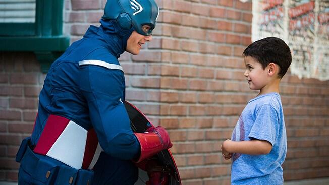 ヒーロー・エンカウンター:キャプテン・アメリカ