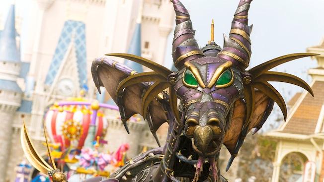 The dragon at Festival of Fantasy Parade