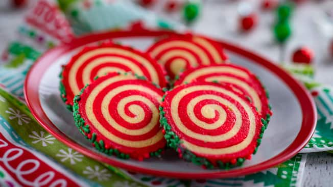 Peppermint Pinwheel Cookie
