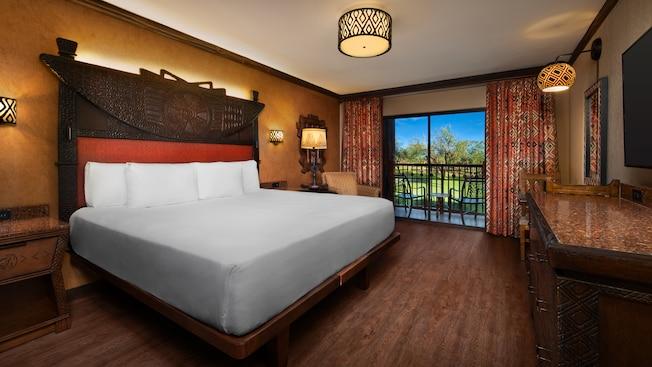 Confira ao quartos reformados do Animal Kingdom Lodge