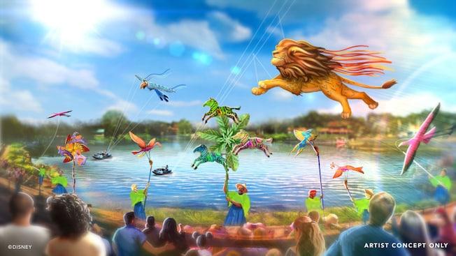 Confira os horários do novo show do Animal Kingdom