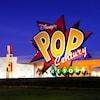 Giant logo for Disney's Pop Century Resort