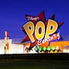 Giant logo for Disney's Pop Century Resort