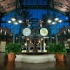Lobby fountain at The Mint, the main building at Disney's Port Orleans Resort – French Quarter