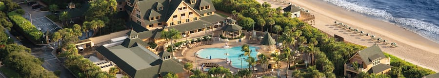 Ariel view of Disney's Vero Beach Resort