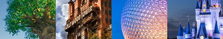 Four magical theme parks at Walt Disney World