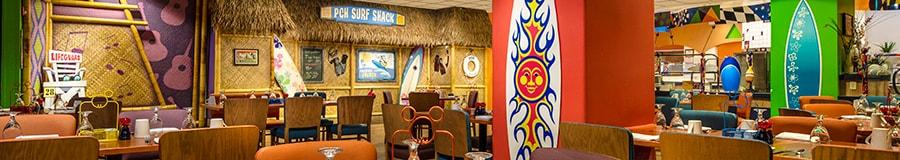 Paradise Pier Hotel Lobby