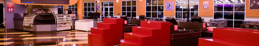 Dining area of the Intermission Food Court
