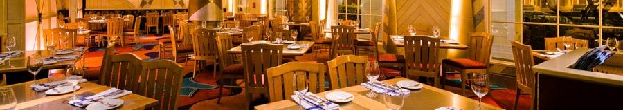 Área de comidas de Flying Fish Café