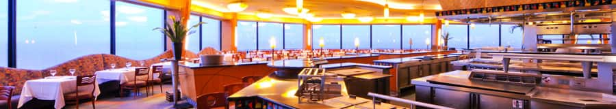 California Grill with sweeping views