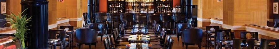 El área de comidas de Kimonos, un restaurante exclusivo en Walt Disney World Dolphin Hotel