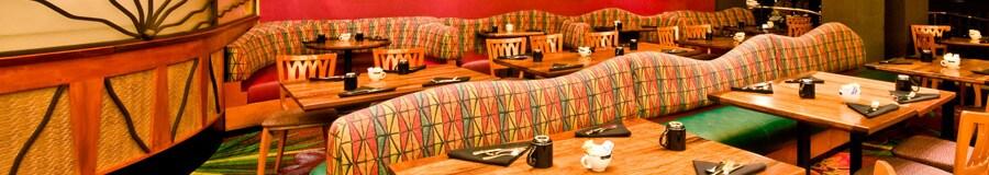 Dining area of The Kona Café