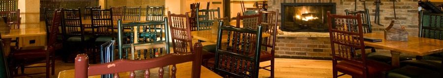 Área de comidas de Boatwright's Dining Hall