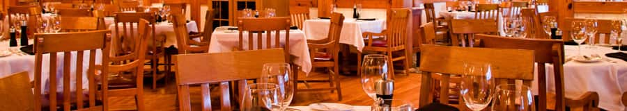 Área de comidas en Yachtsman Steakhouse