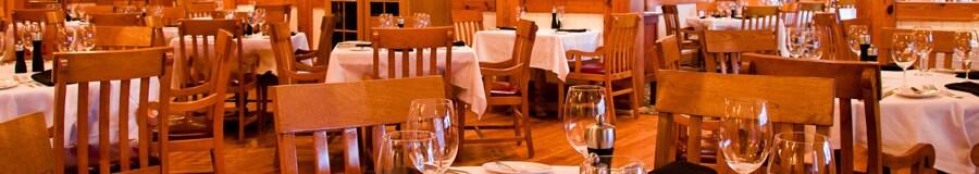 Área de refeições do Yachtsman Steakhouse