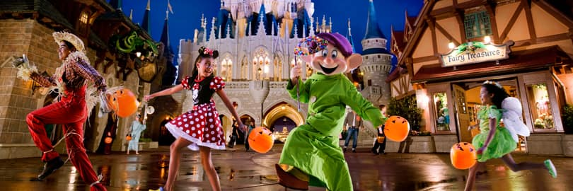 Halloween In Disney Florida.Mickey S Not So Scary Halloween Party Tickets Walt Disney