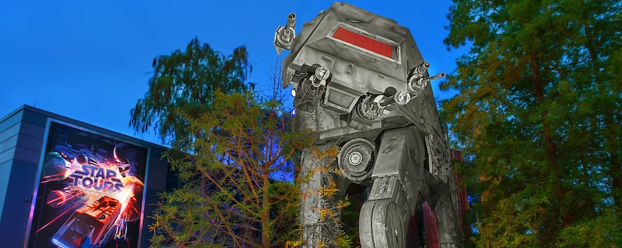 Entrada de Star Tours: The Adventures Continue en Disney's Hollywood Studios