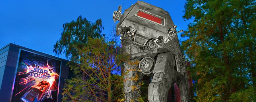 Entrance to Star Tours: The Adventures Continue at Disney's Hollywood Studios