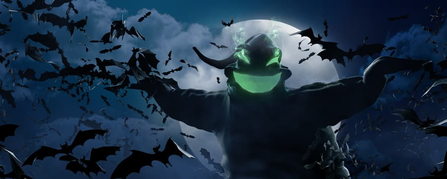 Oogie Boogie en Halloween Time en Disneyland Resort