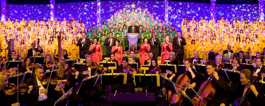 Image result for Epcot Candlelight Processional