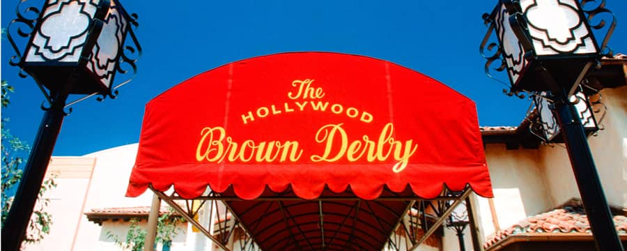 Entrada que leva para o The Hollywood Brown Derby