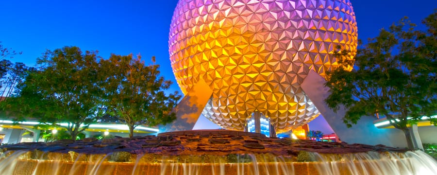 Spaceship Earth, the iconic centerpiece of Epcot