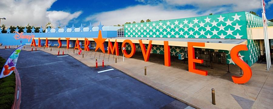ディズニー・オール・スター・ムービー・リゾートの看板