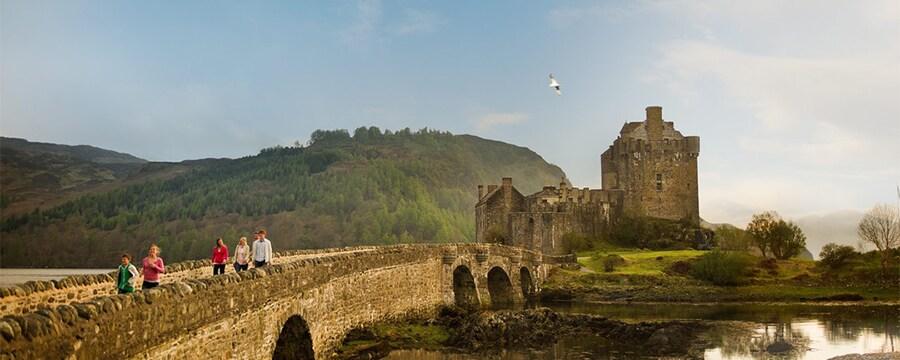 A rural landscape in Scotland