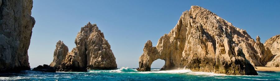 El Arco, a rocky formation in Cabo San Lucas, Mexico