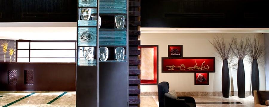 A lounge area at Hotel Palomar in Washington, D.C.