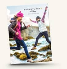 image of Adventures by Disney brochure cover
