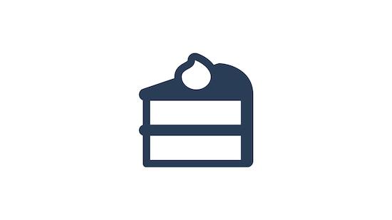 Cakes at Akershus Royal Banquet Hall