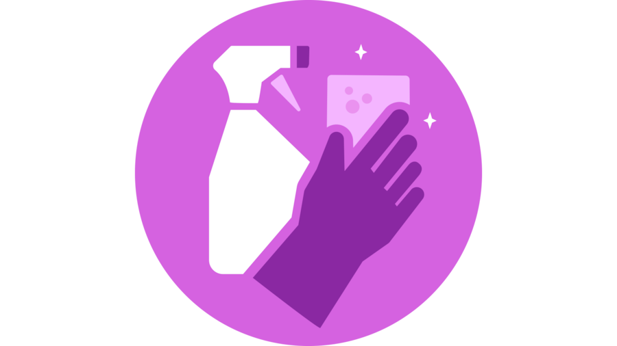 Cleanliness icon