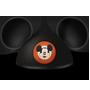 Um ícone de orelhas do Mickey